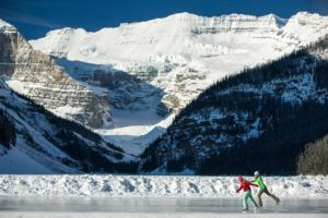 Ice Skating Lake Louise Zizka Med