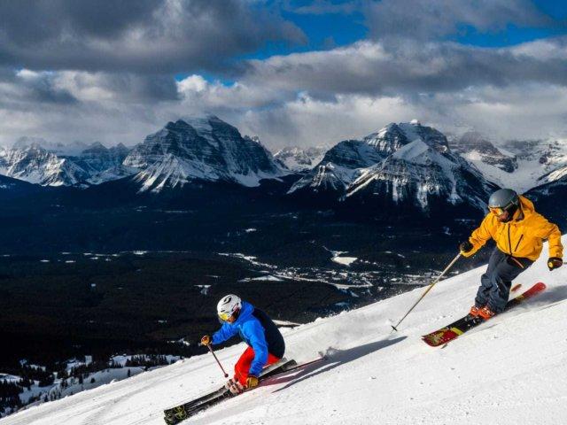 Ski Snowboard Lake Louise 2016 Reuben Krabbe 22 Horizontal Large