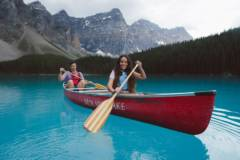 Canoeing Moraine Lake Jake Dyson 14 Hor New Large