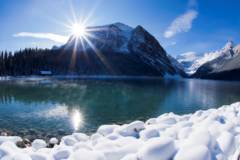 Lake Louise Winter Large