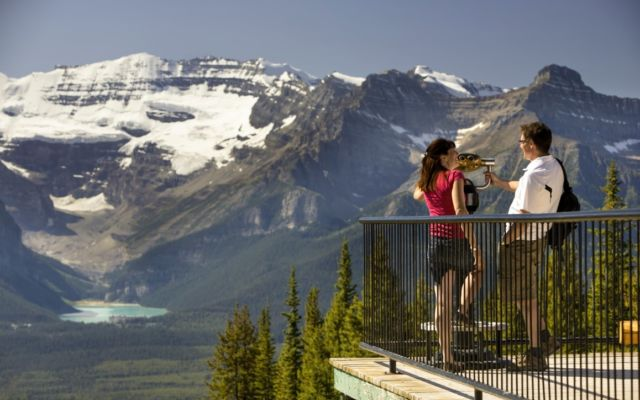 Sightseeing Lake Louise Gondola Victoria Glacier Paul Zizka 1 Horizontal Medium