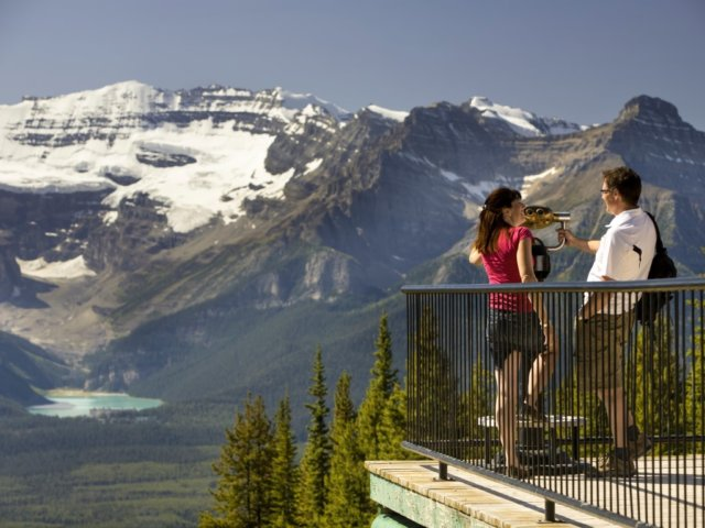 Sightseeing Lake Louise Gondola Victoria Glacier Paul Zizka 1 Horizontal Medium