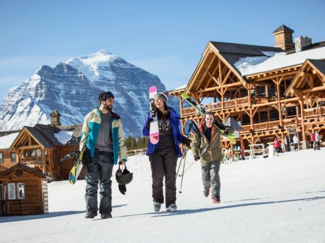 Ski Snowboard Lake Louise 2016 Noel Hendrickson 8 Horizontal Large